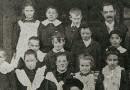 Dalgety School students