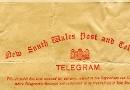 Telegram re Federal site