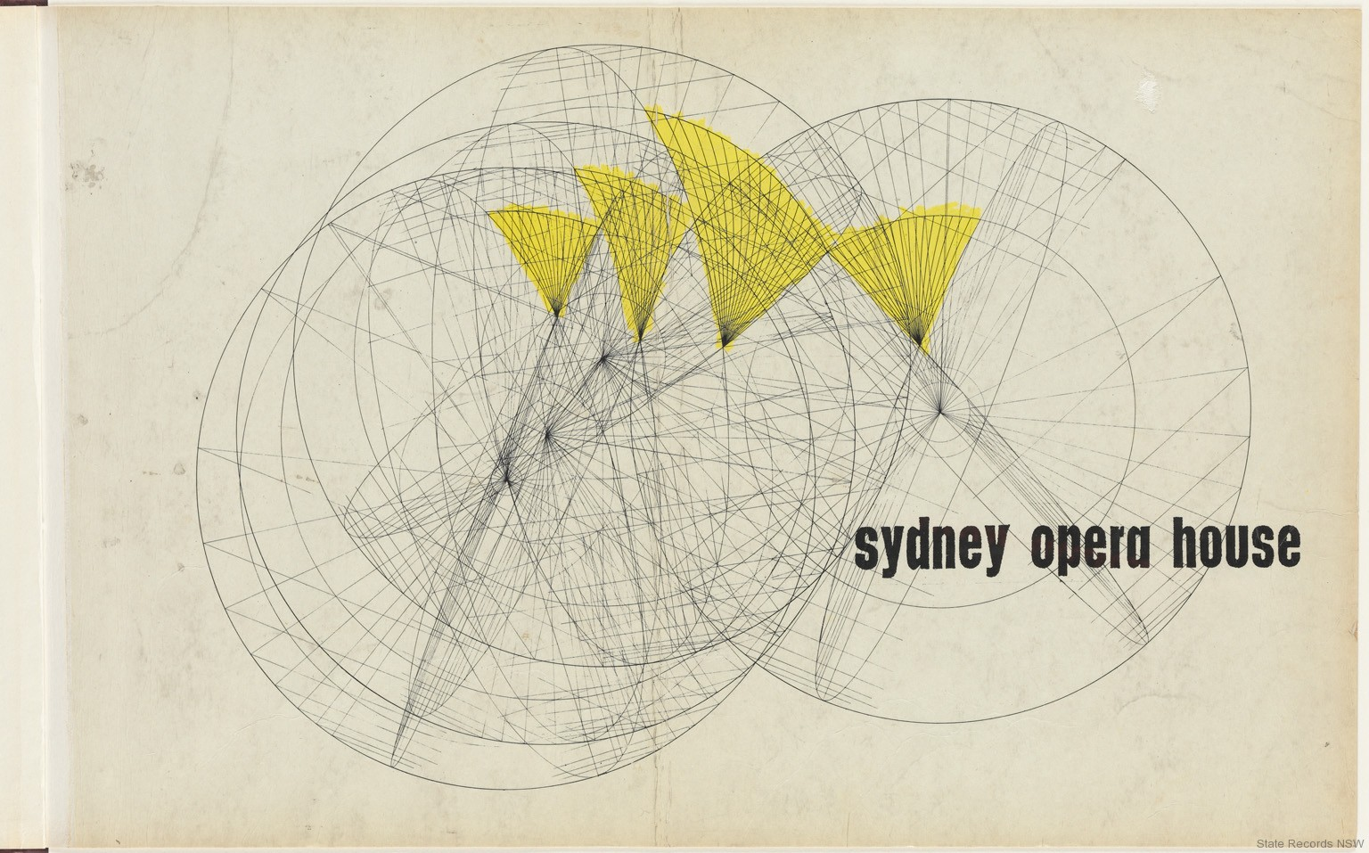 Sydney Opera House Yellow Book State Records NSW