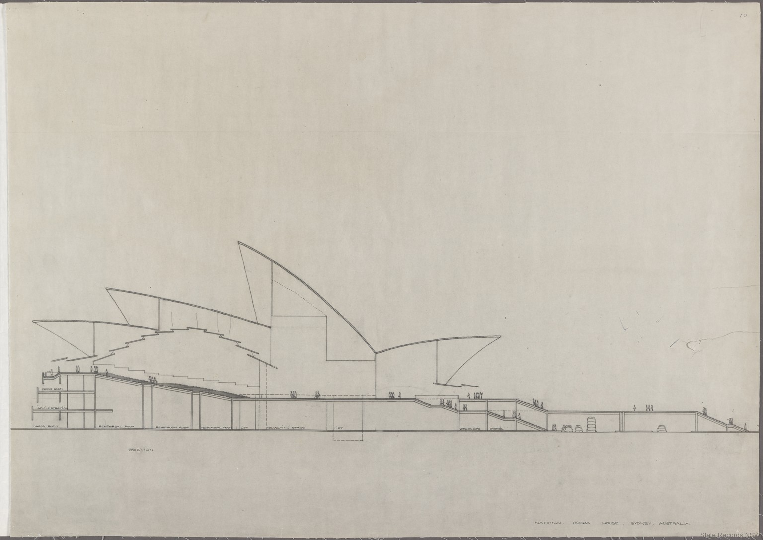 Sydney Opera House – Utzon drawings - State Records NSW
