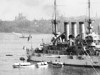 The Great White Fleet in Sydney Harbour