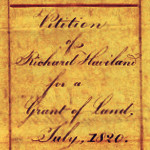 Request for a grant of land – from the castrator of government stock