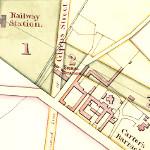 Plans for Central Station, Sydney 1849