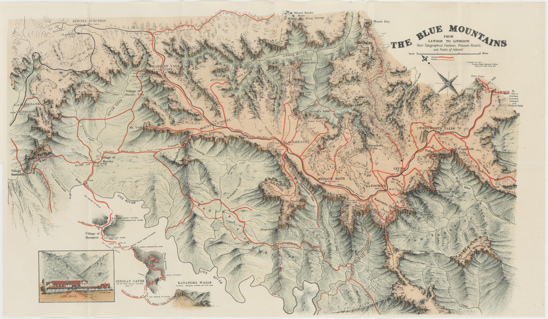 Westward, Ho! A trip over the Blue Mountains on