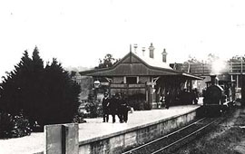 Valley Heights Station c1910. Digital ID 17420_a014_a014000735