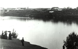 Nepean River Regatta, Emu Plains 1880s. Digital ID 4481_a026_000814