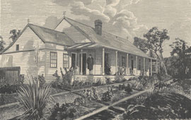 Sketch of Sir Henry Parkes' mountain residence, Faulconbridge. From The Railway Guide. NRS16407-1-1[1]_p37