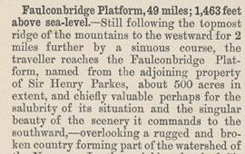 Description of Faulconbridge (and surrounding towns). From The Railway Guide. NRS16407-1-1[1]_p38