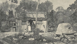 Sketch of a Blue Mountains home, 1879. NRS 16407/1/[1]p.21