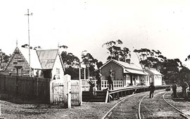 Katoomba Railway Station, c1889. Digital ID 17420_a014_a014000740