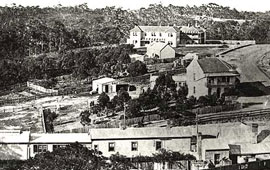 View of Katoomba Railway Station and surrounds, c1885. Digital ID 17420_a014_a014000741